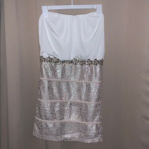 Deb Small Strapless Mini Dress